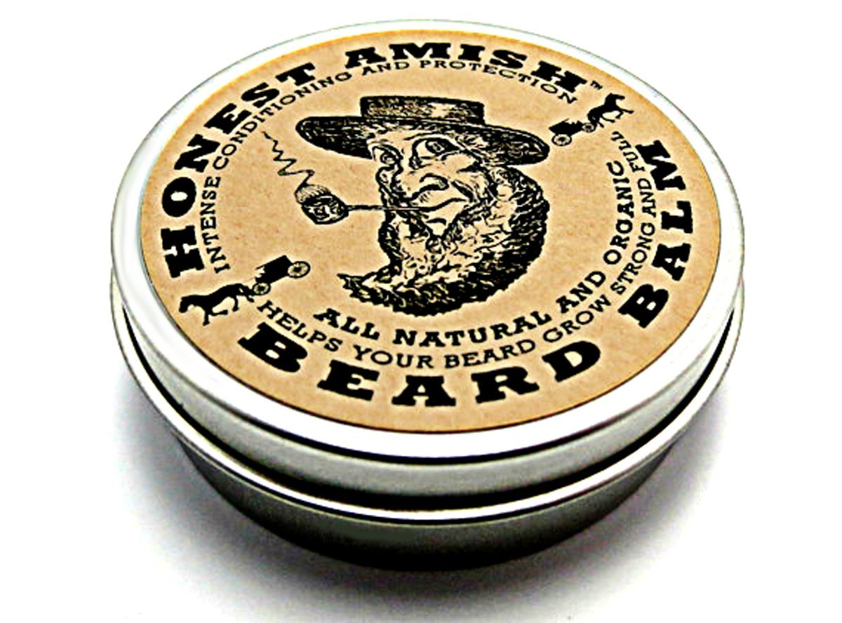 Honest Amish Beard Balm Review